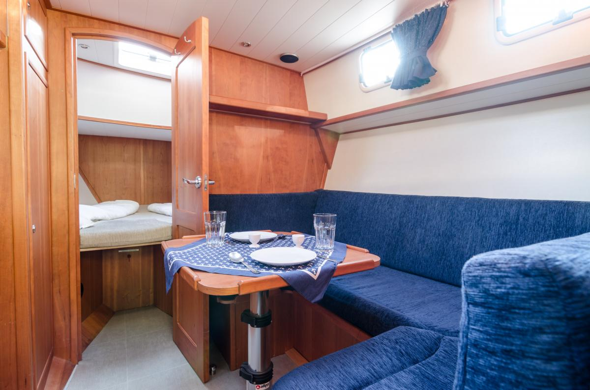 Lanke Charter/Passion-Yachten/Passion 880/Salonsitzgruppe