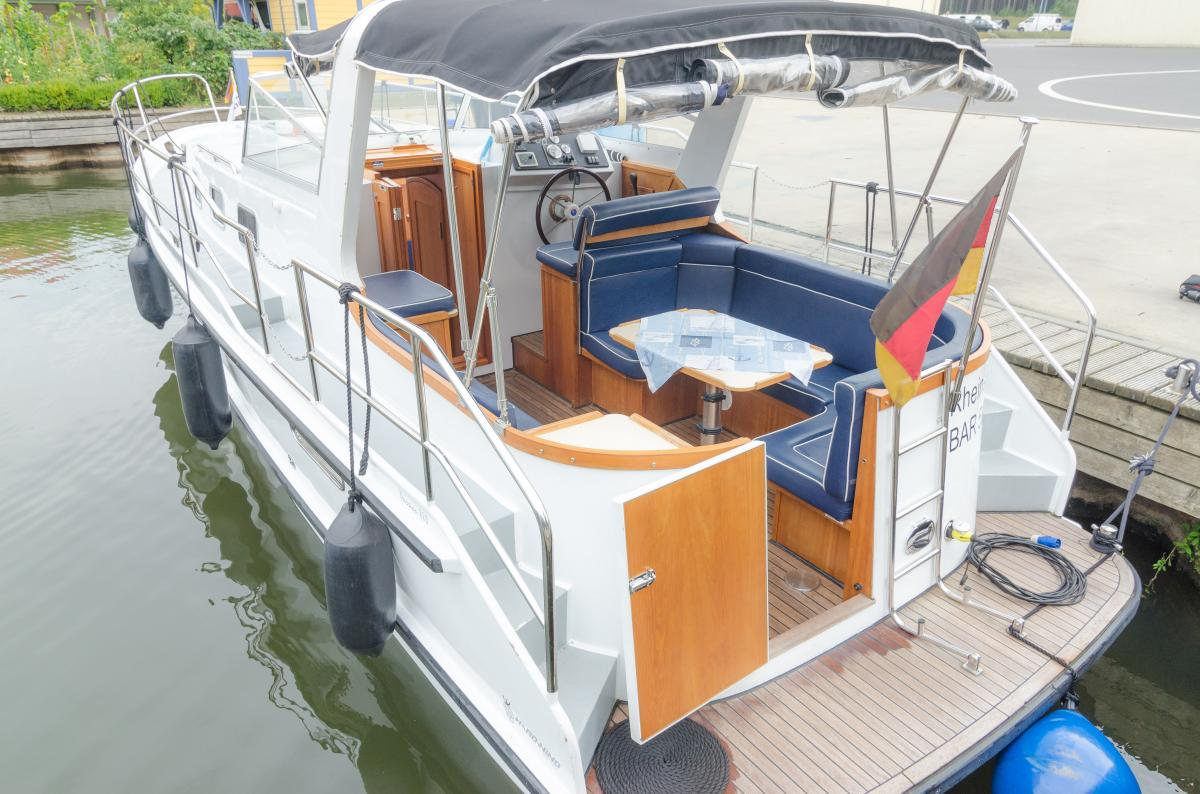Lanke Charter/Passion-Yachten/Passion 880/Hecksitzgruppe